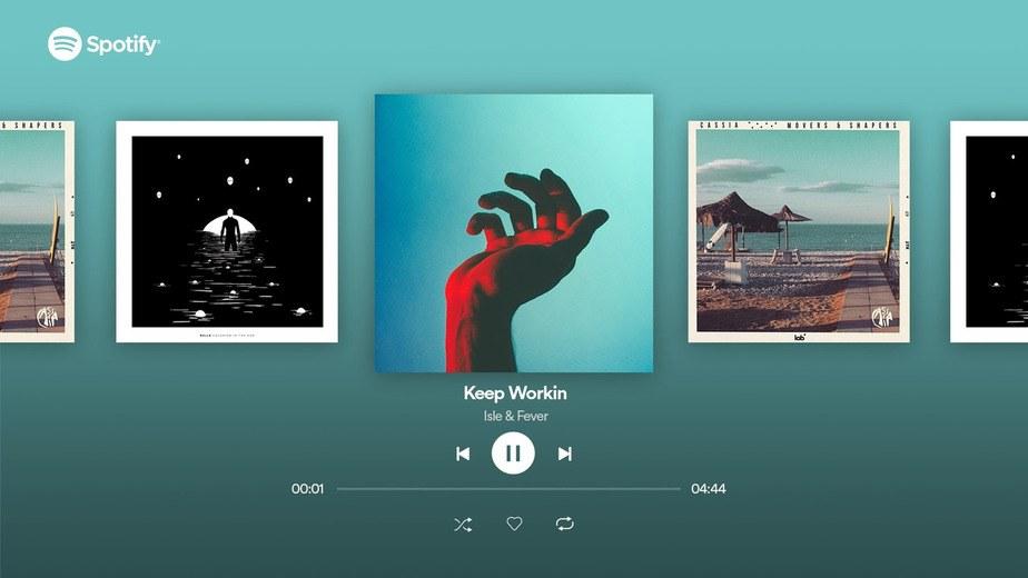 Spotify-music-app